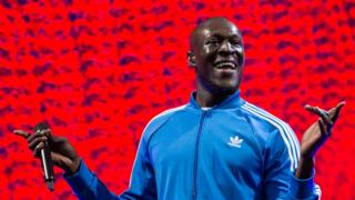 Stormzy on the Other stage Glastonbury 2017