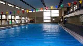 Swimming pool at Stocksbridge