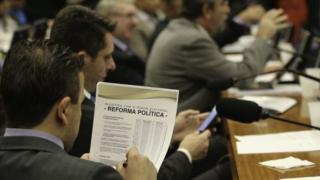 Comissão especial da Câmara que analisa a reforma política
