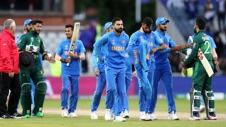 भारत और पाकिस्तानी खिलाड़ी