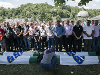 Комеморација за сребреничке жртве