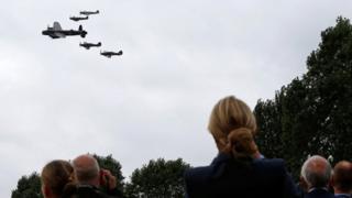 Battle of Britain Memorial Flight aircraft