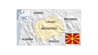 Girkawa sun yi zanga-zanga a kan Macedonia