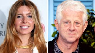 Stacey Dooley and Richard Curtis
