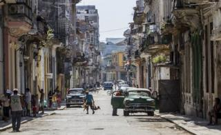 View of Havana Vieja on July 20, 2015