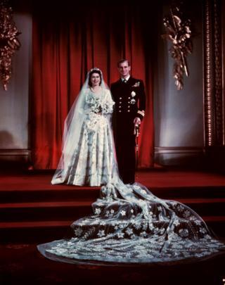 Wedding of Queen and Duke of Edinburgh, 1947