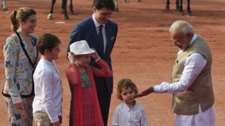 Hadrien Trudeau oo la kulmay Narendra Modi