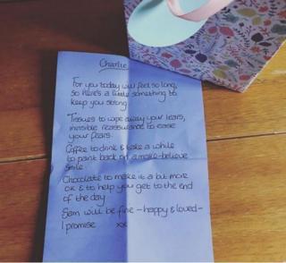 Çocuk bakıcısının notu