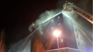 Fire at Travelodge, Brentford