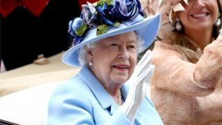 Engleska kraljica