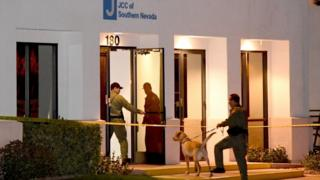 A Las Vegas area JCC is searched for bombs after a suspicious phone call