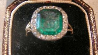 Emerald ring stolen from Goodwood House