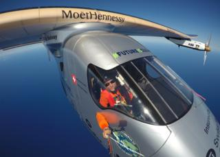 Solar Impulse lands in California after Pacific crossing