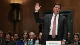 SEC Chair Jay Clayton during a confirmation hearing this spring