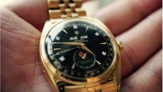 Chiếc đồng hồ Rolex nạm kim cương của Cựu Hoàng Bảo Đại trong lần bán năm 2002