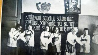 Один из первых детских садов Сталинабада (Душанбе). 1931-1932гг.