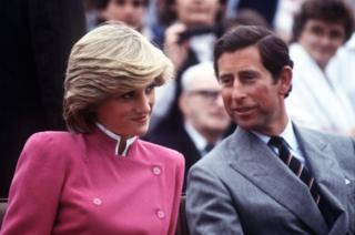 Prince and Princess Of Wales during a visit to Montague, Prince Edward Island, Canada