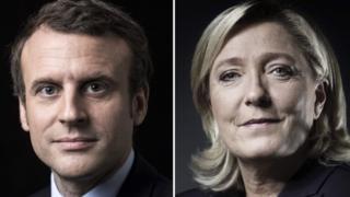 Le Pen ve Macron