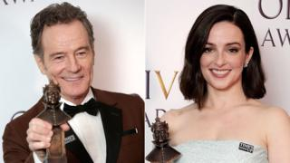 Bryan Cranston and Laura Donnelly