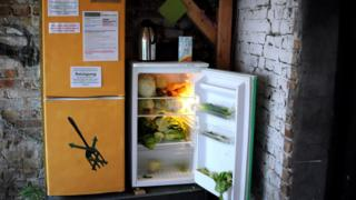 One of the public fridges in Berlin