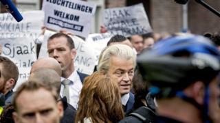 Polisi menyebut, orang yang membocorkan lokasi rahasia Geert Wilders itu tidak bertugas sebagai pengawal, dan ia berdarah Maroko.