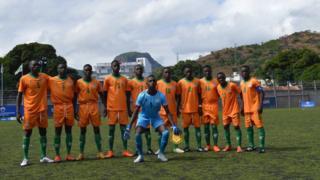 La Zambie a battu l'ile Maurice 3-0
