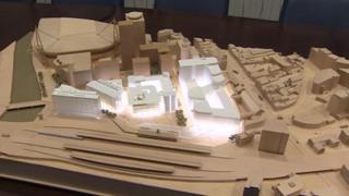 Model of the new development
