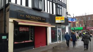 empty Rotherham shops