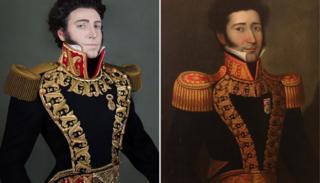 Fuchs e o marechal Juan Bautista Elespuru y Montes de Oca
