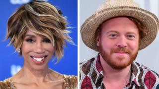 Trisha Goddard and Leigh Francis