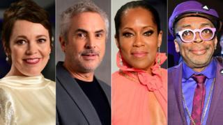 Olivia Colman, Alfonso Cuaron, Regina King and Spike Lee