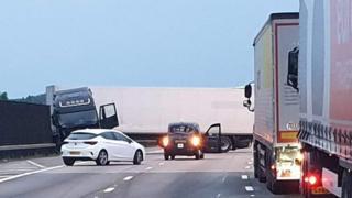 M25 collision