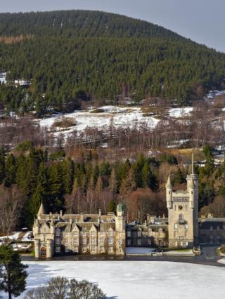 Michael Duguid took this photo of Balmoral Castle this week