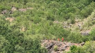 Quarry rescue