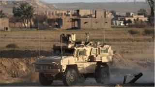 Сирийские демократические силы действуют при поддержке американских военных