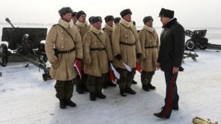 Conmemoraciones del la batallas de Stalingrado en su 76 aniversario.