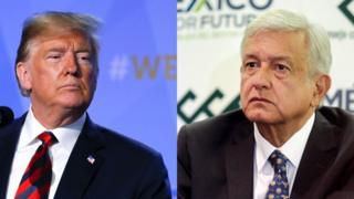 Andrés Manuel López Obrador y Donald Trump.