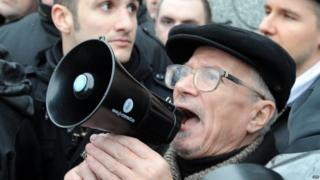 Russian nationalist Eduard Limonov - 2011 file pic