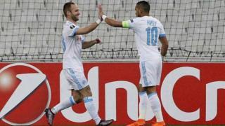 16e de finale aller de l'Europa League : Marseille- Braga (3-0)