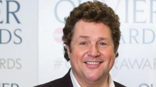 Michael Ball at the Olivier Awards