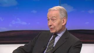 Frank Field, MP for Birkenhead