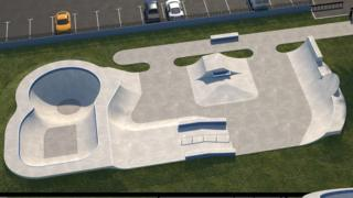 Skate park plan