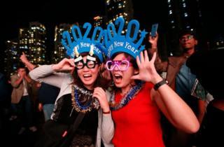 جشن سال نو در دوبی