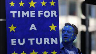 مظاهرة للعودة للاتحاد اأوروبي