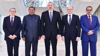 OPEC-in nümayəndə heyəti və prezident İlham Əliyev
