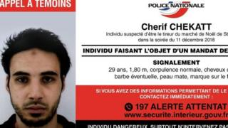 Police notice for Chérif Chekatt