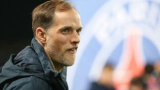 L'Allemand Thomas Tuchel, entraîneur du PSG