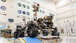 science Perseverance rover