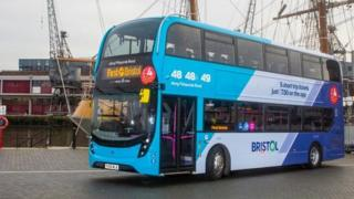 First Bus at Bristol Harbour