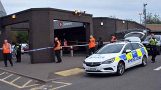 Blind man's injuries 'life threatening' after subway fall in Glasgow
